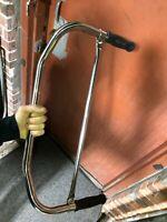 CROSSBAR HANDLEBARS Classic Vintage bicycles Mead Schwinn Elgin NEW with grips