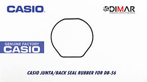 Casio Gasket / Back Seal Rubber, For Modelos. DB-56