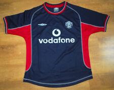 UMBRO Manchester United 2000/2001 Camicia 3rd (PER ALTEZZA 164cm)