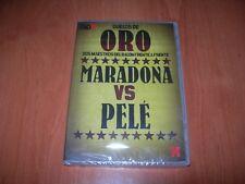 DUELOS DE ORO - MARADONA vs PELÉ DVD EDICIÓN ESPAÑOLA PRECINTADO