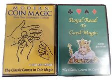 Modern Coin Magic & Royal Road To Card Magic Dvd