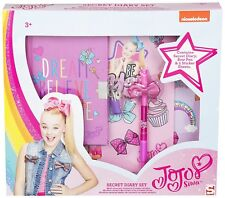 JoJo Bows Secret Diary Set Limited Edition - Diary, Bow Pen & Signature Sticker