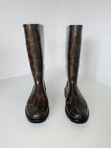 Dolce And gabbana Womens Wellington Boots Size 40
