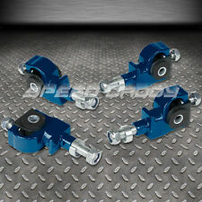 ADJUSTABLE FRONT CAMBER ADJUSTER KIT 90-97 HONDA ACCORD/CIVIC/92-96 PRELUDE BLUE