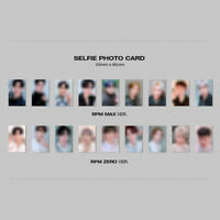 SF9 - 7TH MINI ALBUM RPM SELFIE PHOTO CARD TAEYANG DAWON HWIYOUNG INSEONG ZUHO
