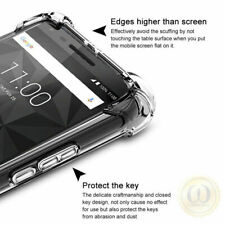 Fr BlackBerry Key2/Keyone/Motion Ultra Slim Shockproof Clear Tpu Soft Case Cover