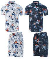 Soulstar Floral Palm Hawaiian Party Beach Summer Matching Shirts or Shorts
