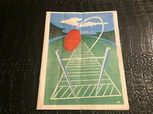1953 WISCONSIN High School State Football program - WEST BEND VS MAYVILLE