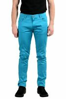 Versace Jeans Men's Blue Stretch Skinny Jeans Size 33 34 36