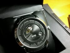 Hugo Boss Automatic Watch Swiss Made Reflection Limited Black Croc band NWT$1025