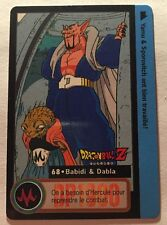 Ref192 Carte Dragon Ball Z Carddass Bandai 1995 Total N 714 68 Babidi Dabla