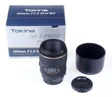 Tokina AT-X Pro D 100mm 2.8 Makro Nikon AF Vitrinenmodell, wie neu  #1715