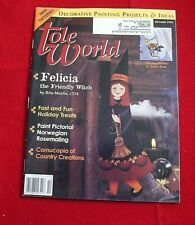 Tole World Magazine ~ Decorative Painting ~ October 1995