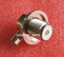 1pcs SO239 UHF female for radio solder RG58 RG142 LMR195 right angle Connector