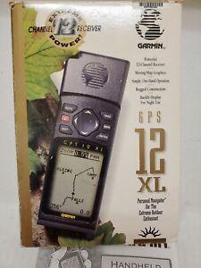 Garmin GPS 12 XL Handheld Personal Navigator GPS for Outdoorsmen Hunting Hiking