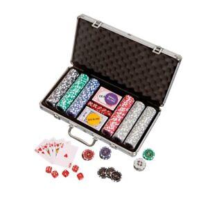 Pokerchips - Aluminiumkoffer - 300 Casino-Pokerchips