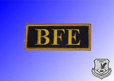 Abzeichen Schriftzug BFE Beweissicherungs- und Festnahmeeinheit Bundespolizei