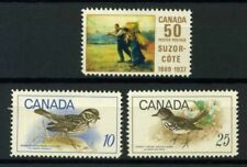 Canada 1969 Mi. 434, 439-440 MNH 100% Suzor-Cote. Birds