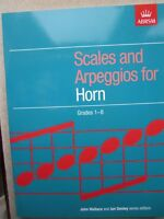 Scales and Arpeggios for Horn grades 1-8 *NEW* ABRSM