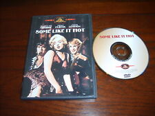 Some Like It Hot (Dvd,1959,Ws)~50th Anniv Ed~Unrated~Marilyn Monroe~Tony Curtis