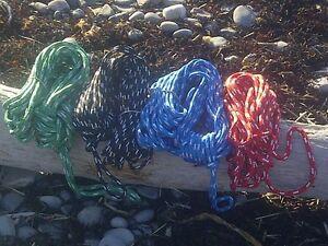 "3/8"" x 100 ft Cajun XLE yacht rope- Colour w/ white flecks FREE SHIPPING !!!!"