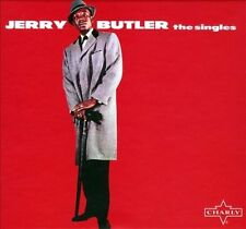 The Singles [Digipak] by Jerry Butler (CD, Nov-2013, 2 Discs, Charly Records (UK))