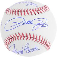 Johnny Bench, Joe Morgan, Pete Rose, & Tony Perez Cincinnati Reds Signed Ball