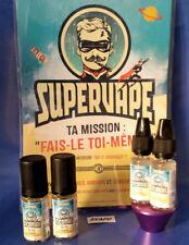 SUPERVAPE  booster nicotine diy E-LIQUIDE 50/50// 20/80PG/VG (lot 2flacons)
