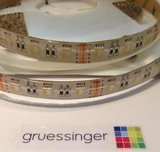 5m RGBW Strip LED 5050 RGB 12mm Streifen 12V  NEU & OVP