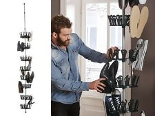 Ordex Shoe Carousel Rack Storage up to 48 Pairs Telescopic Height 2.4 - 2.8m