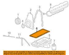 GM OEM-Engine Oil Pan Gasket 12612350