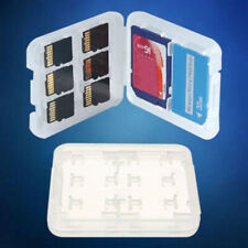 Memory Card Storage Box Case Holder W/ 8 Slots for SD SDHC MMC Micro SD Cards