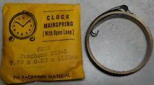 New listing Clock Mainspring Jughans 222-3 No.219 7.50 X 0.30 X 1100Mm Open Loop End