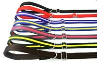 "60"" Long Dog Lead Slip Leash 20mm Soft Cushioned Air Webbing 22 Various Colours"