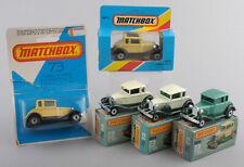 Matchbox Superfast MB73c Model 'A' Ford Variations x 5 *MIB*