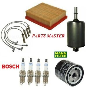 Tune Up Kit Filters Spark Plugs For CHEVY CAVALIER L4 2.2L; GAS; 4 ENG CODE 2002