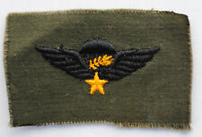 Wartime US Machine Made ARVN Airborne Wings