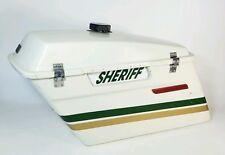 HARLEY LEFT SIDE SADDLE BAG POLICE SHERIFF STYLE TOURING SADDLEBAG (2000)