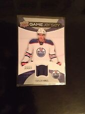 2012-13 Upper Deck Series 1 Taylor Hall Game-Used Jersey #GJ-TH