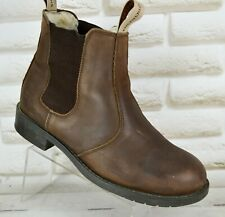 SHEPHERD OF SWEDEN Sanna Womens Brown Nubuck Leather Ankle Boots Size 5 UK 38 EU
