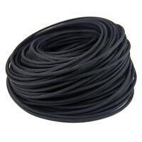 Funda Trenzada para Cables Revestimiento Extensibles Manga en Negro. Muchos