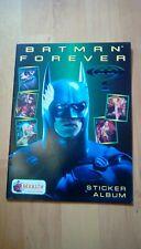 batman forever sticker album