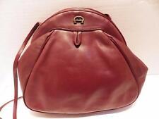 Vintage Etienne Aigner Leather Handbag Shoulder Bag 1970s
