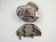 US Cover Helmet Desert Storm 6 color chocolate chip Helmbezug PASGT Medium Large
