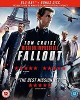 Mission Impossible  Fallout (Bluray  Bonus Disc) [2018] [Region Free] [DVD]