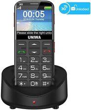 Uniwa Unlocked Cell Phone 3G Senior Cell Phone