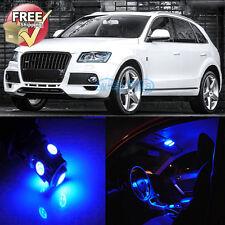Blue Interior LED Lights Package 22 Pcs Fit 2009 and 2017 Models Audi Q5 SQ5