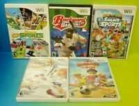 Deca Sports, Game Party, Beach + Summer Sports - Nintendo Wii Sports Game Lot