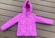 Gap Kids Girls Medium 8 Pink Primaloft Puffer Coat Jacket Euc