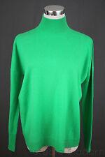 NEW $268 J.Crew Collection Cashmere Mockneck Sweater XXS Vintage Kelly NWT 40312